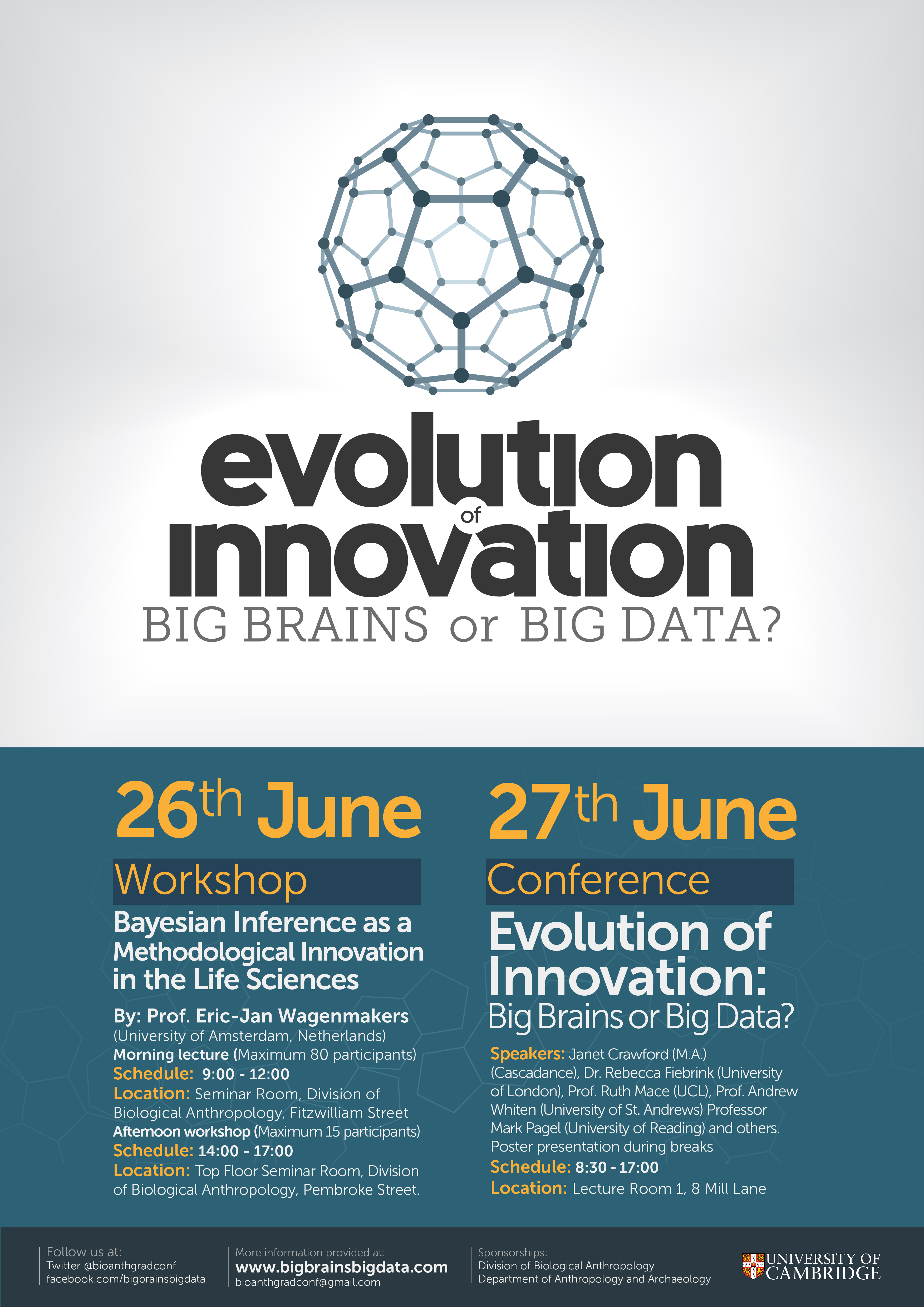 Evolution of Innovation: Big Brains or Big Data