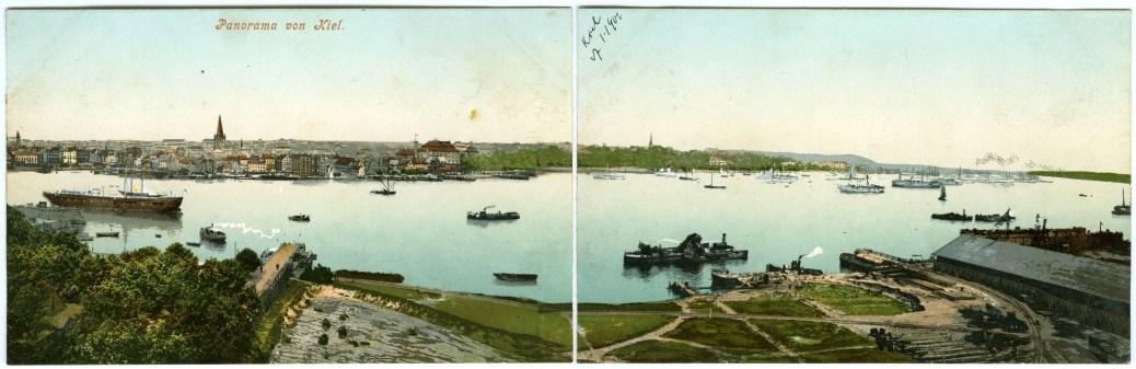 Postcard_Panorama_of_Kiel_(1902)
